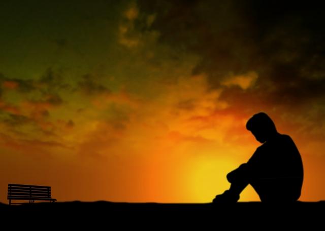 孤独を感じる人