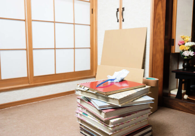日本の遺品整理